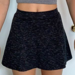 Aeropostale black heathered skirt